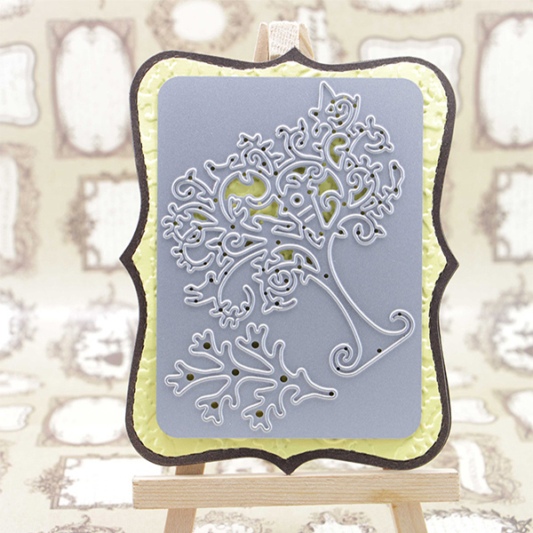Craft Cutting dobbelsteen voor Tree set