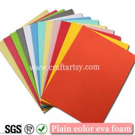 Plain color eva foam sheets