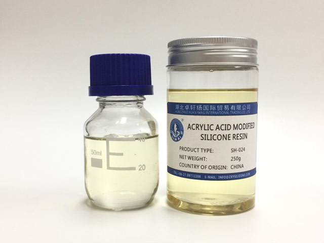 silicone modified acrylic resin