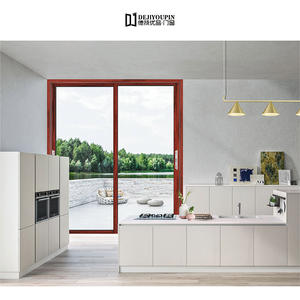 top quality modern sliding door D100N Narrow Wall Sliding Door manufacturer
