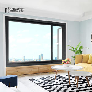 high quality W63 aluminium frame casement window wholesaler