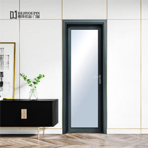 professional best D75 aluminum casement door factory price