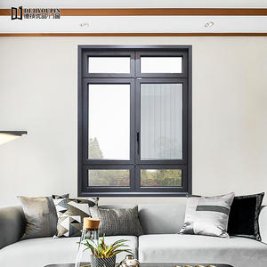 88XT-113 Series Thermal Break Aluminum Casement Windows With Flyscreen