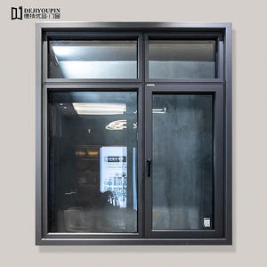 88X-113 Series Thermal Break Aluminum Casement Windows With Flyscreen