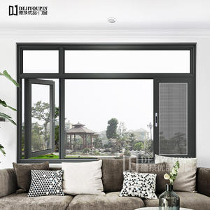 130 Series Thermal Break Aluminum Casement Windows With Flyscreen