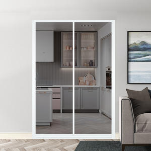 16 Series 2 Track Aluminum Sliding Door