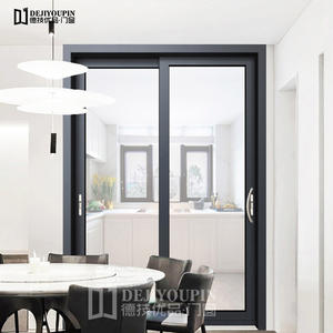 Partition space of aluminum sliding door