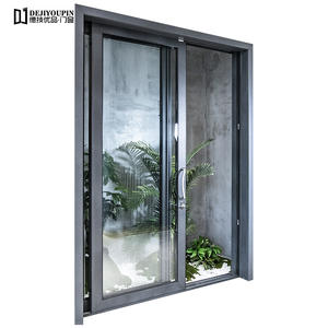 The safety of aluminum sliding door