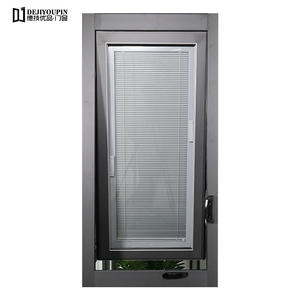 China 63 Series aluminum casement windows(Shutters) supplier