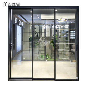 high quality 16 Series 3 Track Aluminum Sliding Door supplier