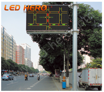 P16 LED Traffic Sign in Nanchang