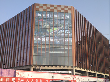 P16 Transparent LED display W series in Henan