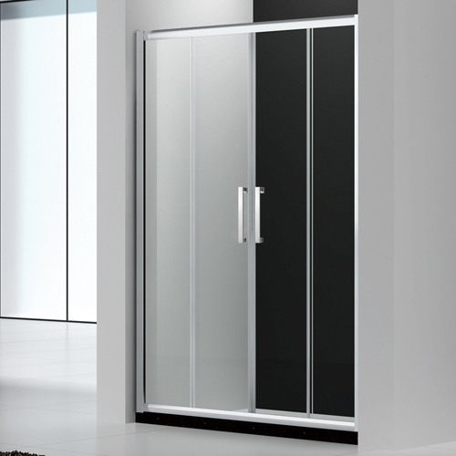 140x140 Luxury double sliding shower doors