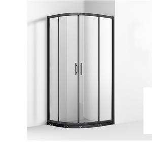 MB242 Morden Black Frame Quadrant Shower Enclosure