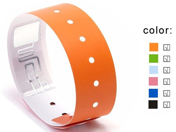 Paper Disposable RFID Wristband Access Control