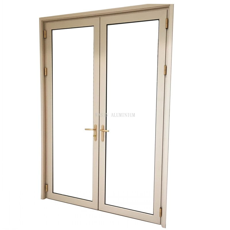 Aluminum frame glass door