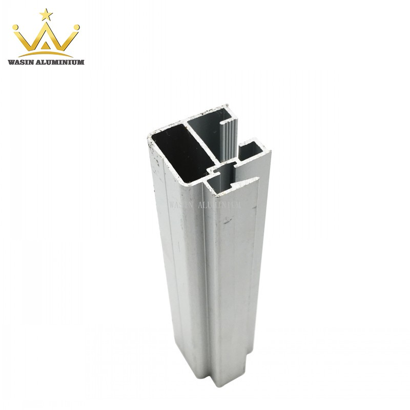 Anodized silver aluminum sliding door profiles for South Africa market