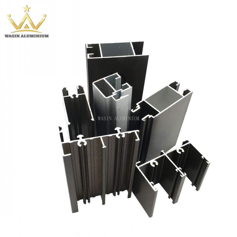 Powder coated aluminum alloy profile for South Africa