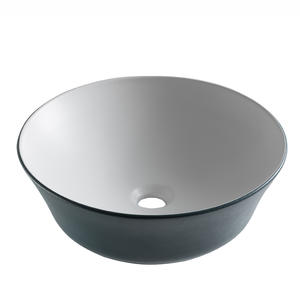 Round Shape Bathroom Porcelain Vessel Sink