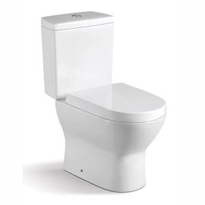 Ceramic Wash Down Floor Mounted Two Piece Ceramic Toilet