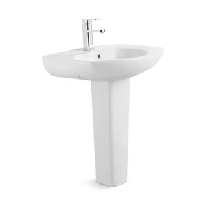 Ceramic Pedestal Large Bathroom Basin Sink
