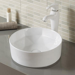 Designed diamond shape vessel bathroom wash basin