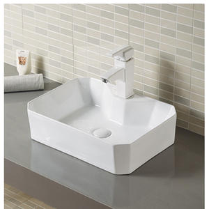 Chamfered Rectangle Lavatory Corner Lavatory Sink