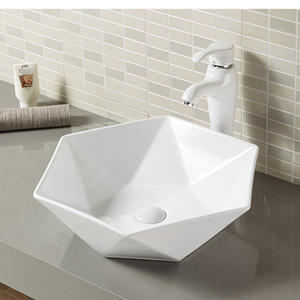 wholesale Diamond shape custom wash basin manufacturers