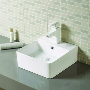 Glossy Deep Basin Bathroom Sink