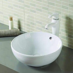 Bowl Shape Under Counter Wash Basin Design