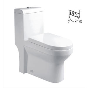 Elongated Top Dual-flush One Piece Bathroom Toilet