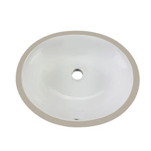 OEM Vitreous china undermount trough bathroom sink  manufacturers