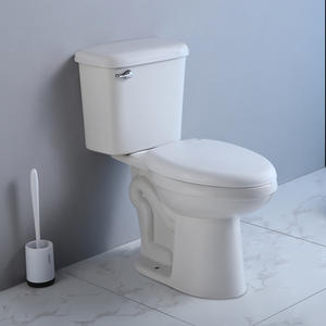 Comfort Height Skirted Two Piece Toilet White