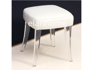 clutie vanity stool for sale modern crystal stool