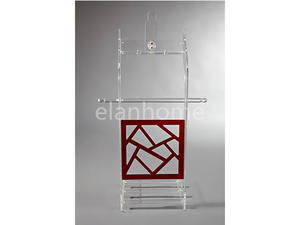 unique design luxury red lucite hallstand wholesale acrylic clothes rack