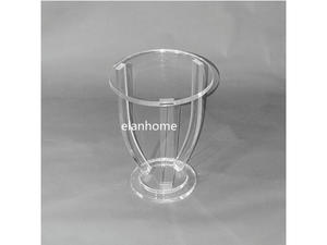 hot sale acrylic round lamp table lucite side table