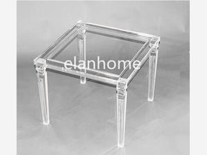custom acrylic coffee table crystal acrylic coffee table