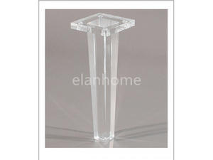 acrylic bench leg acrylic legs lucite legs crystal acrylic legs for furnitures