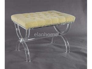 popular clear lucite bench clear lucite  bench from china