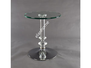 modern lucite end table side table coffee table lamp table