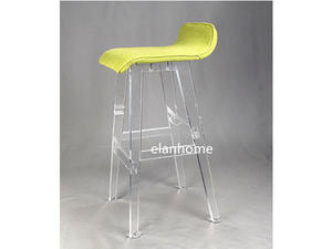 cheap lucite bar chair high quality clear acrylic bar chair from china factory