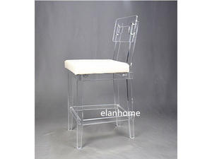 perspex clear bar chair specialty acrylic furniture factory from china