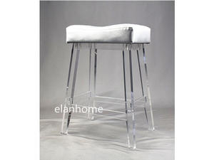 clear lucite bar chair  crystal lucite  bar chair  transparent acrylic stool chair from china factory