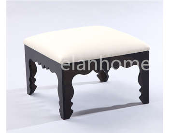 hot sale bench with crystal acrylic legs