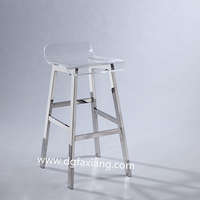 popular high quality clear lucite bar stool