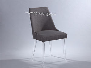 Desk Chair With Clear Acrylic Legs