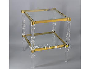 Acrylic Side Table  acrylic bed table clear side table