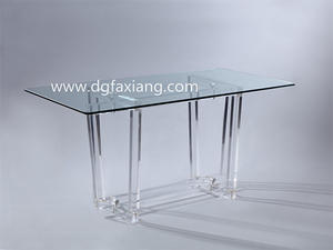 acrylic table long acrylic dining table