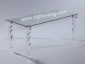 Large Acrylic Coffee Table