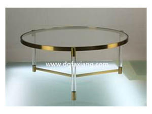 brass and lucite coffee table modern lucite round table acrylic furniture